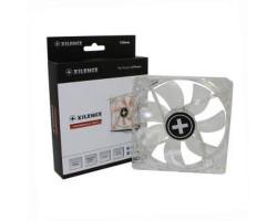 Вентилятор 120 мм, Xilence XF046, Clear, Red LED, гидродинамический подшипник, 120x120x25 мм, 1800 об/ мин, 22 dB, 3-pin/ Molex