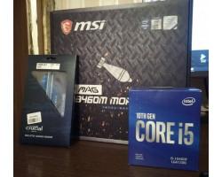 Intel Core i5 (LGA1200) i5-10400F, Box, 6x2,9 GHz (Turbo Boost 4,3 GHz), L3 12Mb, Comet Lake, 14 nm, TDP 65W (BX8070110400F)