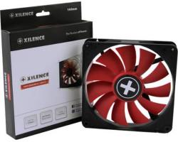 Вентилятор 140 мм, Xilence XF050, Black/ Red, гидродинамический подшипник, 140x140x25 мм, 900 об/ мин, 20 dB, 3-pin/ Molex (XPF140.R)