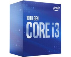 Intel Core i3 (LGA1200) i3-10100, Box, 4x3,6 GHz (Turbo Boost 4,3 GHz), L3 6Mb, UHD Graphics 630 (1100 MHz), Comet Lake, 14 nm, TDP 65W (BX8070110100)