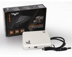 Карман HDD 2.5″ Frime FHE11.25U20 USB 2.0 Plastic, White