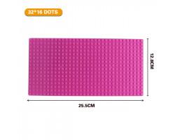 Базовая пластина для констукторов Lego 32x16 (25.5x12.7cm) Pink