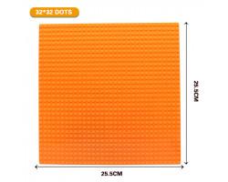 Базовая пластина для констукторов Lego 32x32 (25.5x25.5cm) Orange