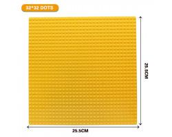 Базовая пластина для констукторов Lego 32x32 (25.5x25.5cm) Yellow