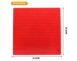 Базовая пластина для констукторов Lego 32x32 (25.5x25.5cm) Red