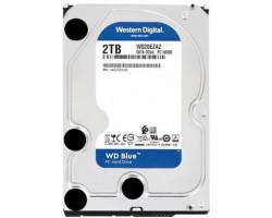 Жесткий диск 3.5″ 2Tb Western Digital Blue, SATA3, 256Mb, 5400 rpm (WD20EZAZ)
