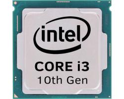 Intel Core i3 (LGA1200) i3-10100F, Tray, 4x3.6 GHz (Turbo Boost 4.3 GHz), L3 6Mb, Comet Lake, 14 nm, TDP 65W (CM8070104291318)