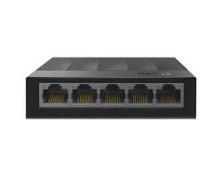 Коммутатор 5 портов TP-LINK LS1005G, 5x10/ 100/ 1000 Mb/ s, пластмассовый корпус, неуправляемый