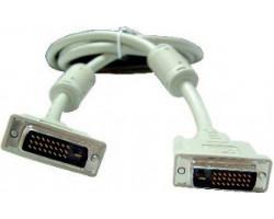 Кабель DVI > DVI 4.5m Gembird CC-DVI2-15 (DVI-D 24/ 24 dual link)