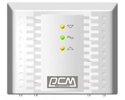 Стабилизатор Powercom TCA-1200 белый, ступенчатый, 600Вт, вход 220В+/ -20%, выход 220V +/ - 7%
