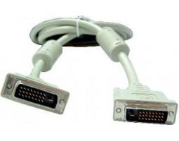Кабель DVI > DVI 10m Gembird CC-DVI2-10M (DVI-D 24/ 24 dual link)