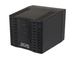 Стабилизатор Powercom TCA-2000 черный, ступенчатый, 1000Вт, вход 220В+/ -20%, выход 220V +/ - 7%