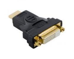 Переходник DVI > HDMI (DVI мама - HDMI папа) (9155)