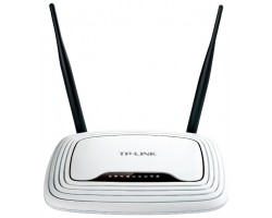 Роутер TP-Link TL-WR841N Wi-Fi 802.11 g/ n, 300Mb, 4 LAN 10/ 100Mb, 2 антены