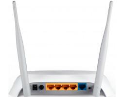 Маршрутизатор WI-FI TP-Link TL-MR3420 (4хLAN, USB, поддержка 3G, MIMO, 802.11n, 300 Мбит/ с)