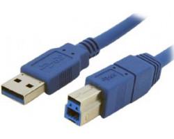 Кабель USB 3.0 - 1.8m AM/ BM Gembird CCP-USB3-AMBM-6