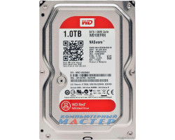 Жесткий диск 3.5″ 1Tb Western Digital Red, SATA3, 64Mb, 5400 rpm (WD10EFRX)