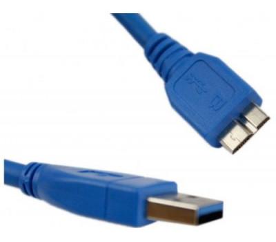 Кабель USB-> Micro-B(3.0) blue 1.8m Atcom