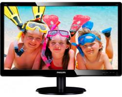19″ Philips 193V5LSB2/ 10 (18.5″/ 5мс/ VGA/ 250кд*м2/ 1000::1/ 1366*768/ 90°/ 65°)