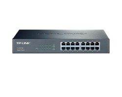 Коммутатор 16 портов TP-LINK TL-SG1016D 16 LAN 10/ 100/ 1000 Mb, Unmanaged