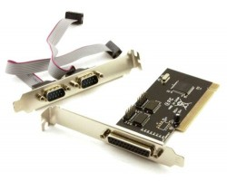 Контроллер PCI > Combo Parallel + Serial-PCI 2*COM + LPT (7805)
