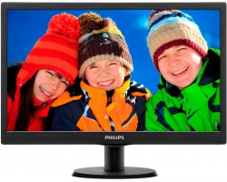 20″ Philips 203V5LSB26/ 10/ 62 (19.5″/ LED/ 5мс/ VGA/ 200кд*м2/ 10 000 000::1/ 1600*900, 90°/ 60°)