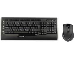 Комплект A4Tech 9300F Wireless V-Track, black