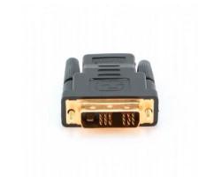 Переходник DVI > HDMI (DVI-D папа - HDMI мама) Atcom (11208)