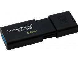 USB Flash Drive 32Gb Kingston DT100G3 Black / DT100G3/ 32GB USB 3.0