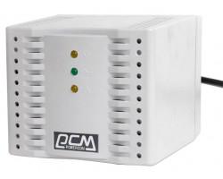 Стабилизатор Powercom TCA-3000 (черный) ступенчатый, 1500Вт, вход 220В+/ -20%, выход 220V +/ - 7%