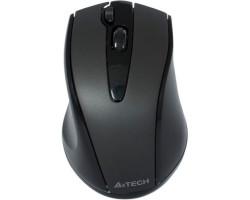 Мышь A4Tech G9-500F-1 черная V-Track беспроводная USB