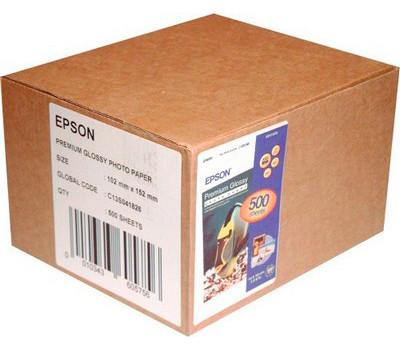 Фотобумага A6 (10*15) 255g/ m Epson глянец премиум (C13S041826)