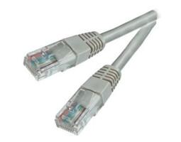 Патч-корд UTP литой 1.0m ATcom серый (4962)
