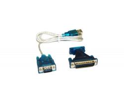 Конвертер USB - Com (RS232) Cable (9+25 pin)
