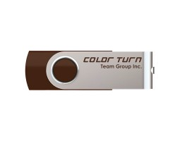 USB Flash Drive 32Gb Team Color Turn Brown /  TE90232GN01