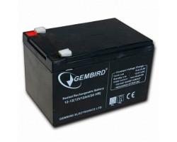 Аккумулятор ИБП 12В 12Ач Gembird /  BAT-12V12AH /   ШхДхВ 150x94x98