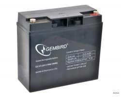Аккумулятор ИБП 12В 17Ач EnerGenie /  BAT-12V17AH4 /  ШхДxВ 180x76x165