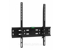 Настенное крепление LCD/ Plasma TV 26- 55″ Walfix S-131B цвет черный, до 45 кг, VESA::400x400 мм, отступ от стены:: 33 мм, наклон 10 град,