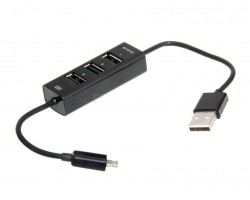 Концентратор USB Siyoteam SY-C10 USB 2.0 (3 USB ports) + Micro USB