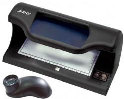 PRO CL-16 LPM магнитная детекция, ультрафиолетовая детекция, проверка в белом проходящем свете, проверка геометрических признаков банкноты, встроенная лупа ? 2х