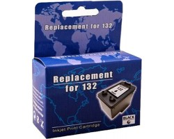 Картридж HP №132 (C9362HE), Black, DJ 5443/ PSC 1513, MicroJet (HC-F33D)