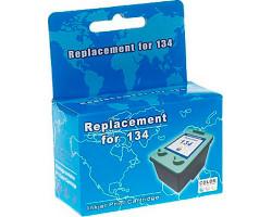 Картридж HP №134 (С9363HE), Color, DJ5743/ PSC 1613, MicroJet (HC-F34L)