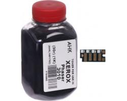 Тонер + чип Xerox Phaser 3010/ 3040/ 3045, 30 г, AHK (1401725)