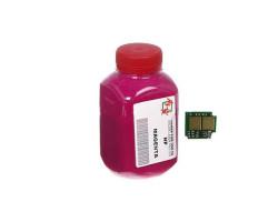 Тонер + чип HP CLJ CP1025, Magenta, АНК (1500126)