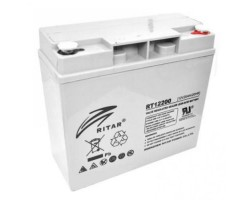 Аккумулятор ИБП 12В 20Ач AGM Ritar RT12200 /  12V 20.0Ah /  181х77х167 мм
