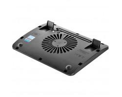 Подставка для ноутбука до 15.6″ DeepCool Wind Pal Mini, Black, 14 см вентилятор (21.6 dB, 1000 rpm), алюминевая сетка, 340х250х25 мм, 575 г