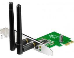 Сетевая карта Asus PCE-N15 802.11n 300Mbps, 2 съемные антенны, PCIexpress