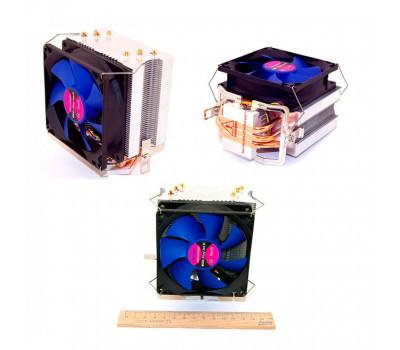 Вентилятор ATcool Aero X3 ball bearing (3медных трубки) CPU s1155/ 1156/ 1366/ 775/ FM1/ AM2/ AM3 (14245)