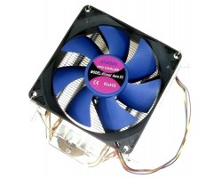 Вентилятор Atcom Aero X2 ball bearing (2 медных трубки) CPU s1155/ 1156/ 1366/ 775/ FM1/ AM2/ AM3 (14244)