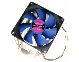 Вентилятор ATcool Aero X2 ball bearing (2 медных трубки) CPU s1155/ 1156/ 1366/ 775/ FM1/ AM2/ AM3 (14244)